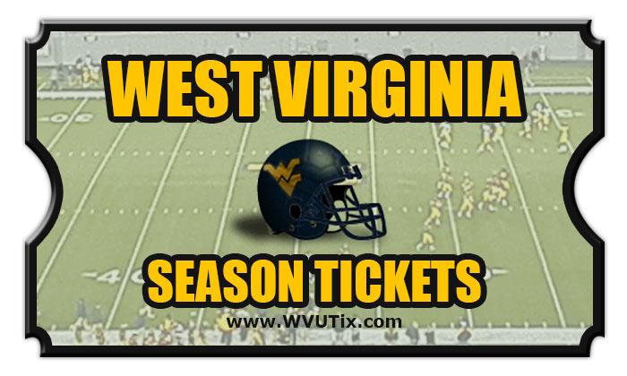 2020 West Virginia Mountaineers Season Football Tickets